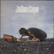Click here for more info about 'Julian Cope - Fried + Poster - Promo Stamped'