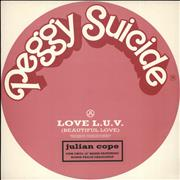 Click here for more info about 'Julian Cope - Love L.U.V. - Pink Vinyl + Picture Sleeve'