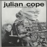 Click here for more info about 'Julian Cope - Peggy Suicide On Tour - Pair of handbills'