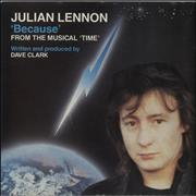 Click here for more info about 'Julian Lennon - Because'
