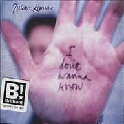 Click here for more info about 'Julian Lennon - I Don't Wanna Know'