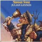 """Julian Lennon Midnight Smoke UK 7"""" vinyl"""
