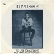 Click here for more info about 'Julian Lennon - Muy Tarde Para Despedirse'
