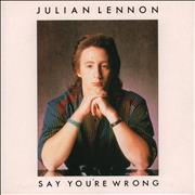 Click here for more info about 'Julian Lennon - Say You're Wrong'