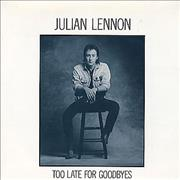 Click here for more info about 'Julian Lennon - Too Late For Goodbyes'