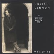Click here for more info about 'Julian Lennon - Valotte - Poster Sleeve'