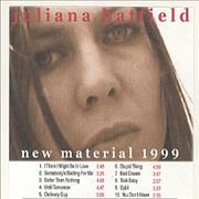 Click here for more info about 'Juliana Hatfield - New Material 1999'
