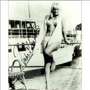 Click here for more info about 'Julie Christie - Signed Photo - White Bikini'