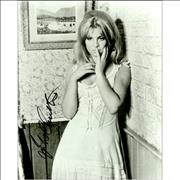 Click here for more info about 'Julie Christie - Signed Photograph - White Dress'