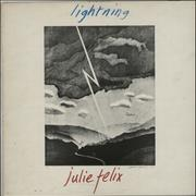 Click here for more info about 'Julie Felix - Lightning - Factory Sample - Autographed'