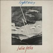 Click here for more info about 'Julie Felix - Lightning - Factory sample'