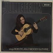 Click here for more info about 'Julie Felix - Sings Bob Dylan & Woody Guthrie'