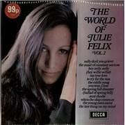 Julie Felix The World Of Julie Felix Volume 2 UK vinyl LP
