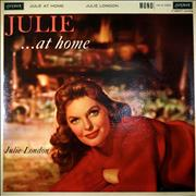 Julie London Julie At Home UK vinyl LP