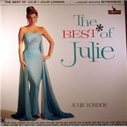Julie London The Best Of Julie UK vinyl LP