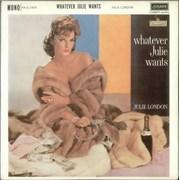 Julie London Whatever Julie Wants UK vinyl LP
