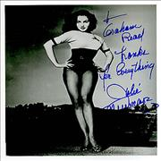 Click here for more info about 'Julie Newmar - Autographed Publicity Photograph'