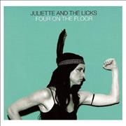 Click here for more info about 'Juliette And The Licks - Four On The Floor'