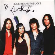 Click here for more info about 'Juliette And The Licks - Hot Kiss - Autographed'