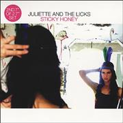 Click here for more info about 'Juliette And The Licks - Sticky Honey'