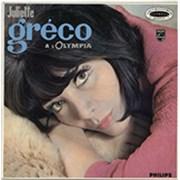 Juliette Greco À L'Olympia France vinyl LP