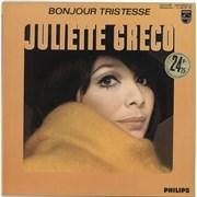 Juliette Greco Bonjour Tristesse / 1956-1959 France vinyl LP