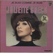 Juliette Greco Je Suis Comme Je Suis France vinyl LP