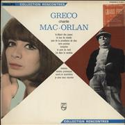 Click here for more info about 'Juliette Greco - Juliette Gréco Chante Mac Orlan'