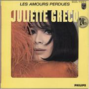Juliette Greco Les Amours Perdues France vinyl LP