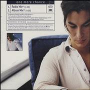 Julio Iglesias Jr One More Chance USA CD single Promo