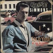 Click here for more info about 'Jumpin' Gene Simmons - I Done Told You! (His Sun Recordings 1955 - 1957)'