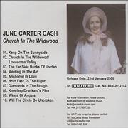 Click here for more info about 'June Carter Cash - Church In The Wildwood'