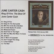 Click here for more info about 'June Carter Cash - Ring Of Fire: The Best Of June Carter Cash'