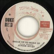 "Junior Byles Break Up To Make Up Jamaica 7"" vinyl"