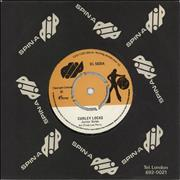 "Junior Byles Curley Locks UK 7"" vinyl"