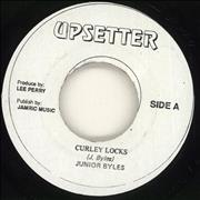 "Junior Byles Curley Locks Jamaica 7"" vinyl"