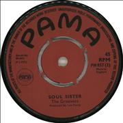 "Junior Byles Fever / Soul Sisters UK 7"" vinyl"