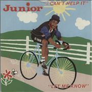 Click here for more info about 'Junior - I Can't Help It'
