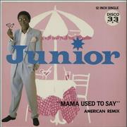 Click here for more info about 'Junior - Mama Used To Say - Misprint'