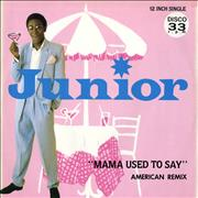 Click here for more info about 'Junior - Mama Used To Say American Remix'