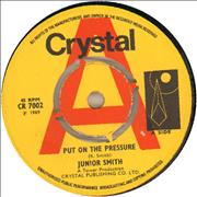 Click here for more info about 'Junior Smith - Put On The Pressure - A Label'