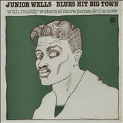 Click here for more info about 'Junior Wells - Blues Hit Big Town - barcoded p/s'
