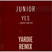 Click here for more info about 'Junior - Yes...If You Want Me'