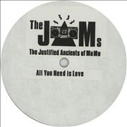 Click here for more info about 'Justified Ancients Of Mu Mu - All You Need Is Love + Press Release & Photograph'