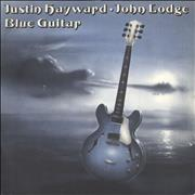 Click here for more info about 'Justin Hayward & John Lodge - Blue Guitar + P/S'