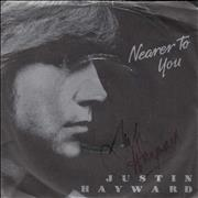 Click here for more info about 'Justin Hayward - Nearer To You - Autographed'