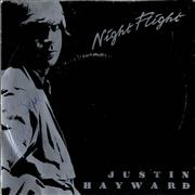Click here for more info about 'Justin Hayward - Night Flight - Autographed'