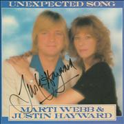 Click here for more info about 'Justin Hayward - Unexpected Song - Autographed'