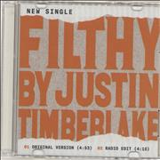 Click here for more info about 'Justin Timberlake - Filthy'