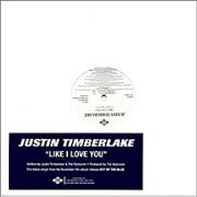 Click here for more info about 'Justin Timberlake - Like I Love You'